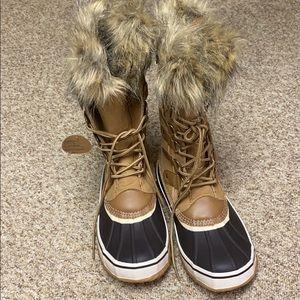 Warm, comfy, winter boots.